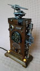Dieselpunk Clock 2 3 by dkart71