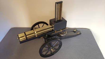 Gatling Gun 1 by dkart71