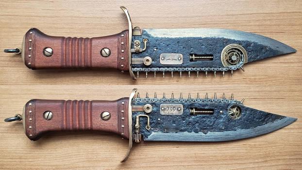 Steampunk Boarding Knife 1