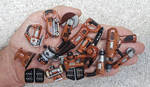 Mini tools made of wood by dkart71