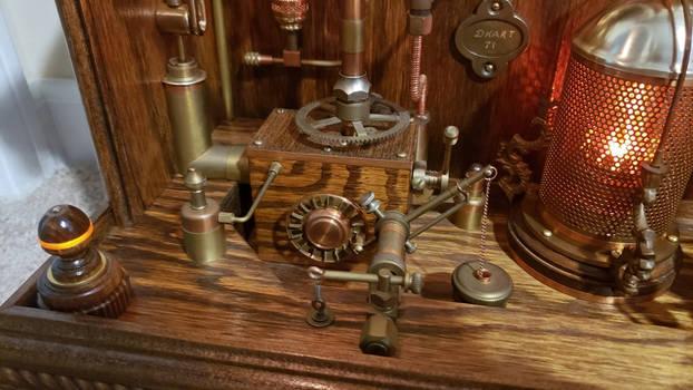 Steampunk Clock 4. 5