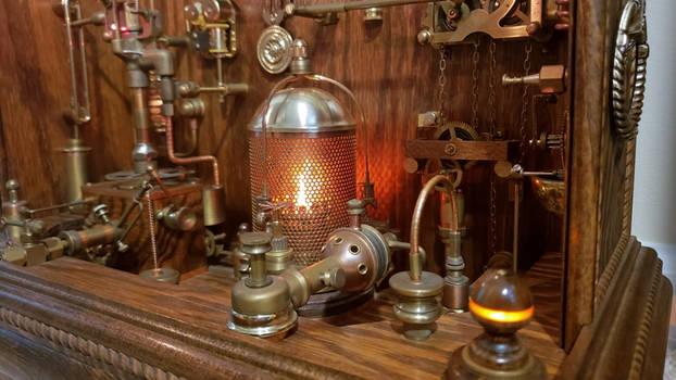 Steampunk Clock 4. 4