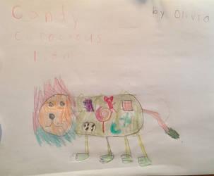Candy Cerocious Lion (cousin's art) by TheSecondRachel