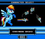 Mega Pony Character Selection - Rainbow Dash
