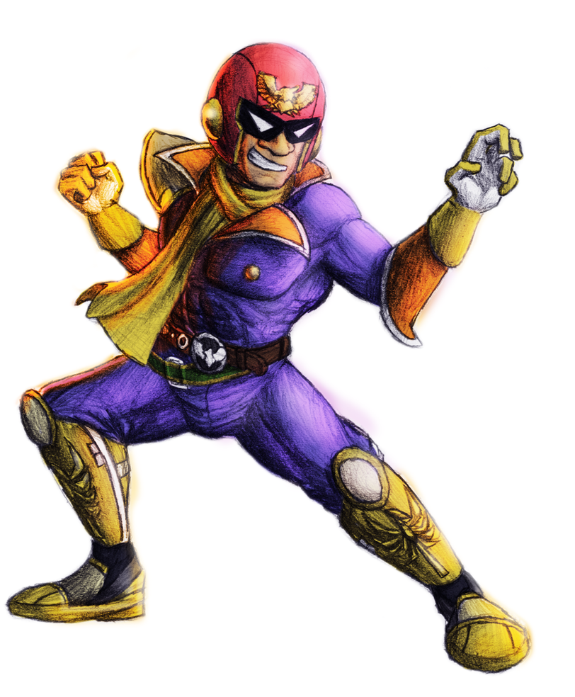 Captain Falcon by  F Zero Captain Falcon