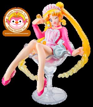 Sailor Moon Figure Render