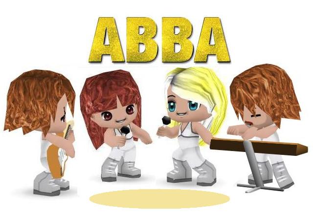 Buddypoke ABBA by deniseyoung