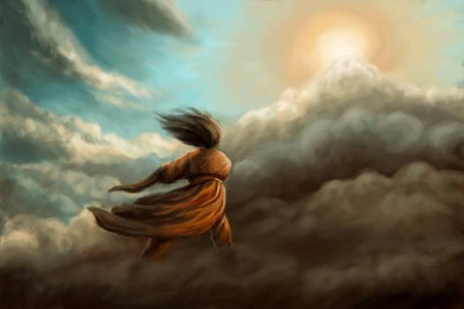 Susano-o Ascending the Heavens