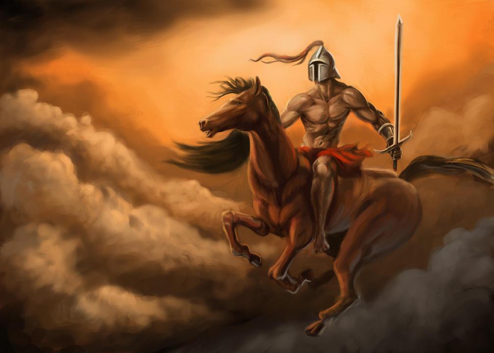 Four Horsemen War The Horseman of War increases