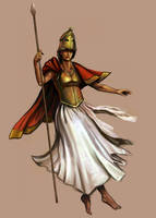 Athena by TaekwondoNJ