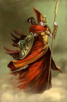 Goddess Athena by TaekwondoNJ