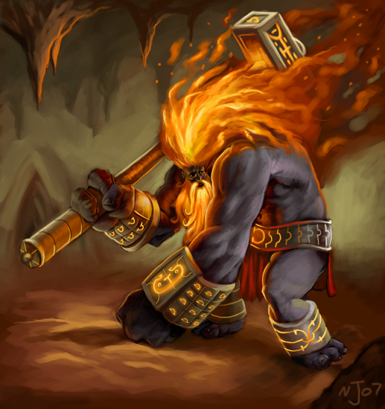 Hephaestus by TaekwondoNJ on DeviantArt