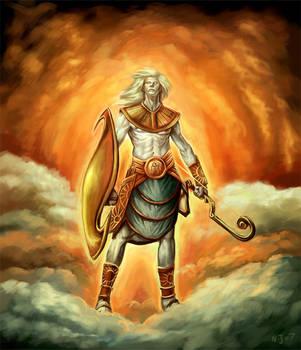 God Apollo by TaekwondoNJ