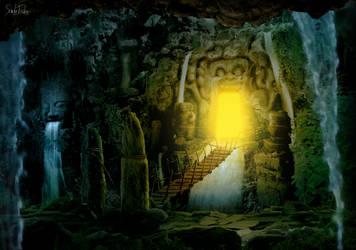 Hidden Temple by SarahFuenke
