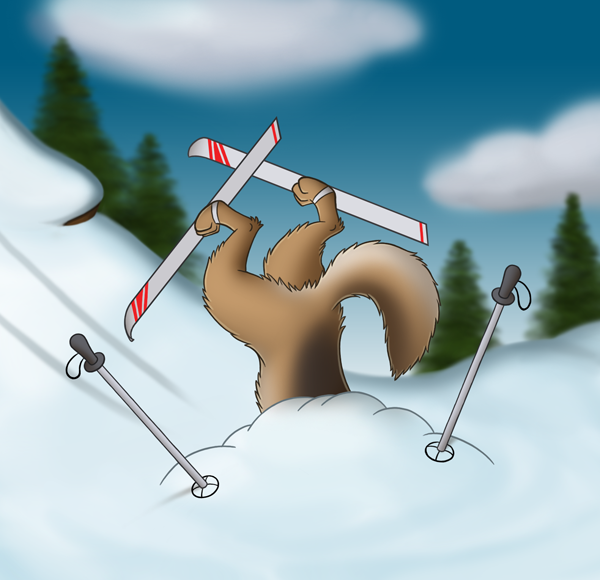 Bad Skier by CodeFly