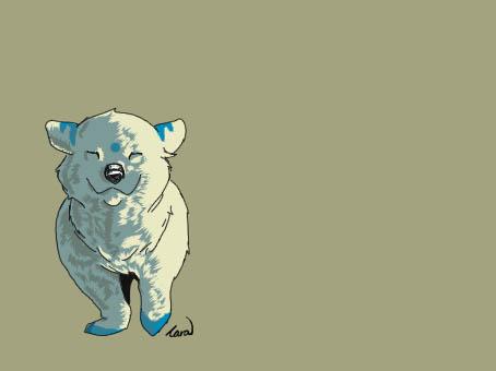 Polar Bear Cub by Ifritids