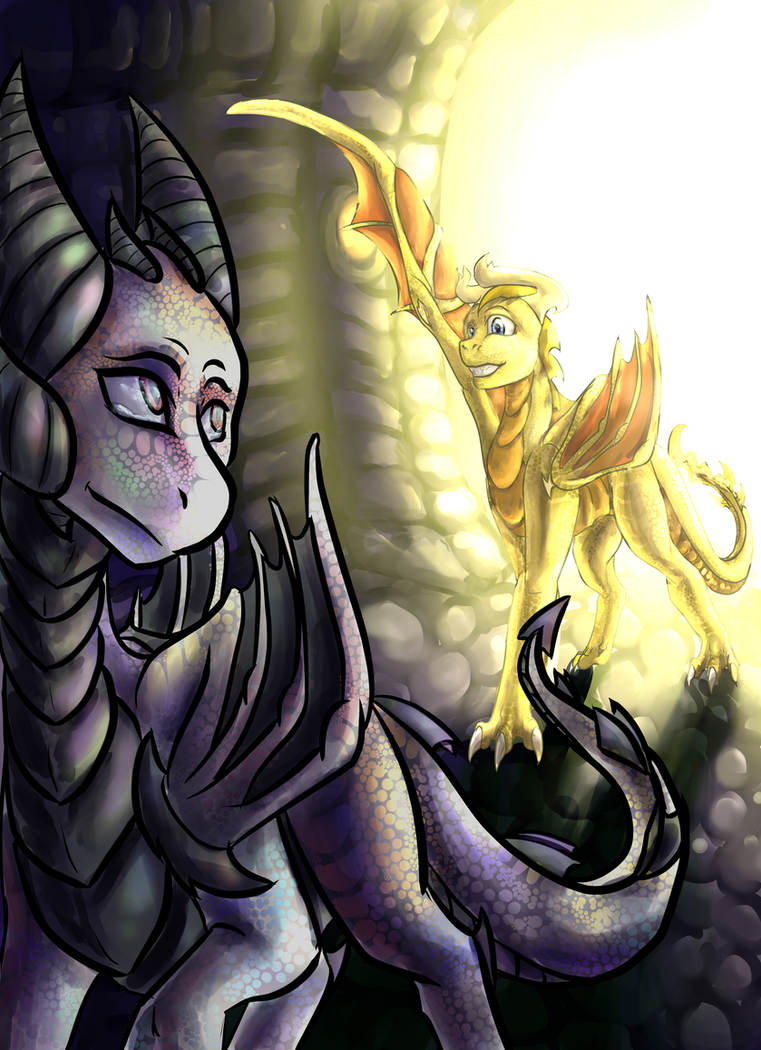 (Gift) She Shines Brighter Than I Ever Could by GoldenGriffiness
