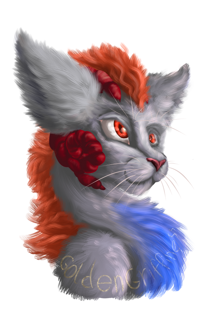 Kitty Dragon Viri by GoldenGriffiness