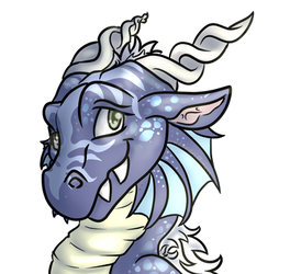 (Com) (D.Org raffle prize) Blue but not Sad by GoldenGriffiness