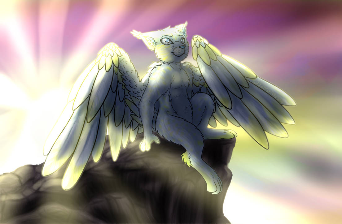 (Com) At the Edge of the Heavens by GoldenGriffiness