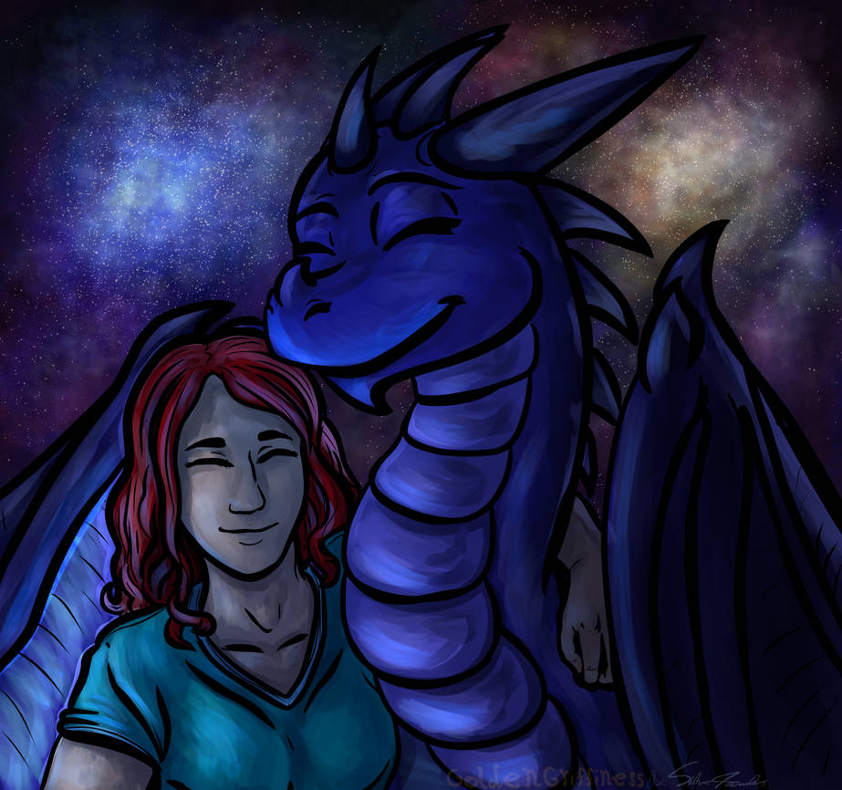 (Com) Ry and Friend by GoldenGriffiness