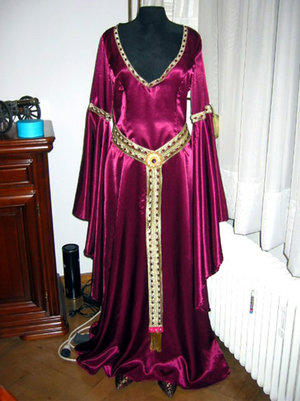 Medieval Fantasy Gown