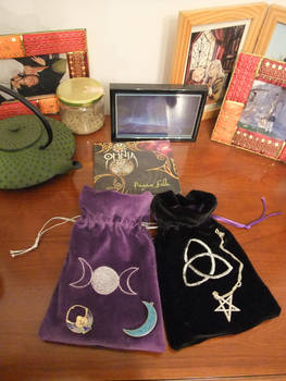 Trade - Two Wicca purses