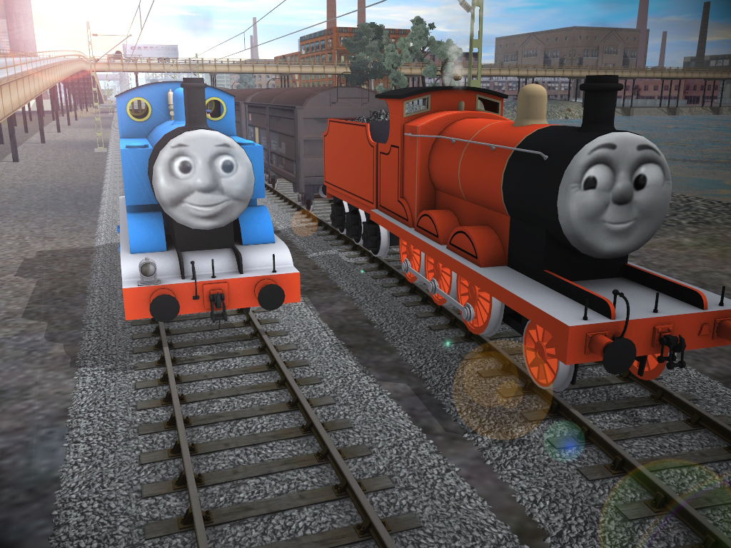 Thomas and Eagle by DarthAssassin on DeviantArt