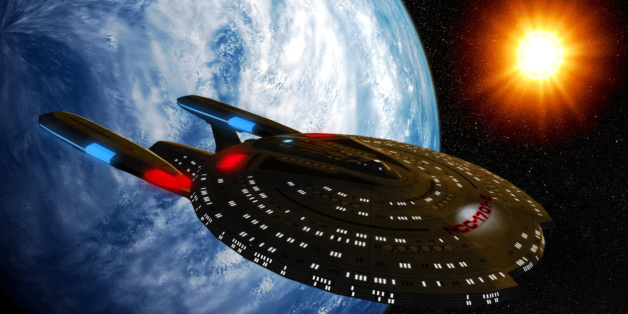 AU Concept: Dawnstar-Class U.S.S. Enterprise-E by DarthAssassin