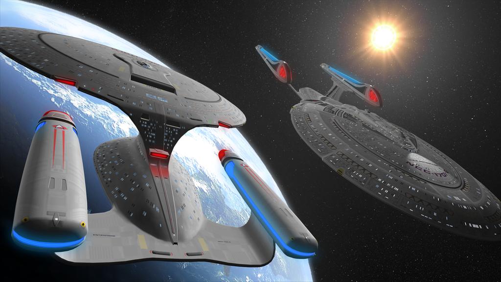 Star Trek: The Next Generation by DarthAssassin