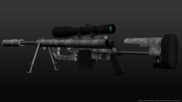 Cheytac M200 Arctic Render