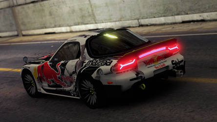 Mazda RX 7-3 Mad Mike #4 by PR1VACY