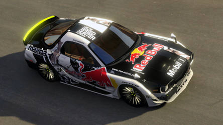 Mazda RX 7-3 Mad Mike #5 by PR1VACY