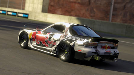 Mazda RX 7-3 Mad Mike #6 by PR1VACY
