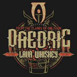 Elder Scrolls Brews #2 Daedric Lava Whiskey by PR1VACY