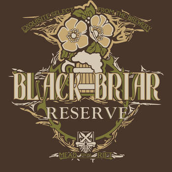 Elder Scrolls Brews #3 Black Briar Reserve by PR1VACY
