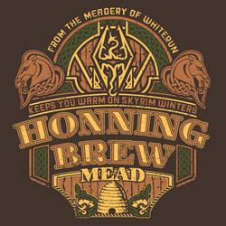 Elder Scrolls Brews #4 Honningbrew Mead by PR1VACY