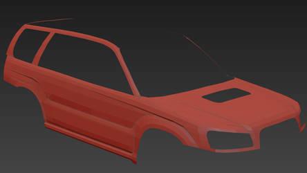 Subaru Forester XT WIP2 by PR1VACY