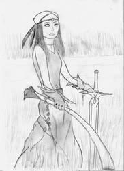 Huntress by clashero