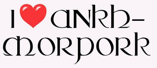 I LOVE Ankh-Morpork by clashero