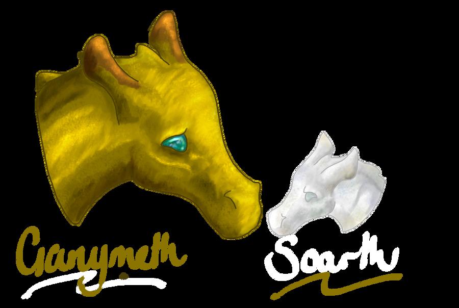 Gany and Soarth by BuffyandBramble