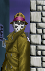 Rorschach - colour thing by Agropio