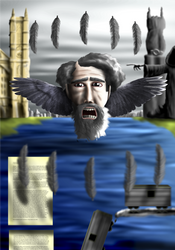 Winged Dickens by Agropio