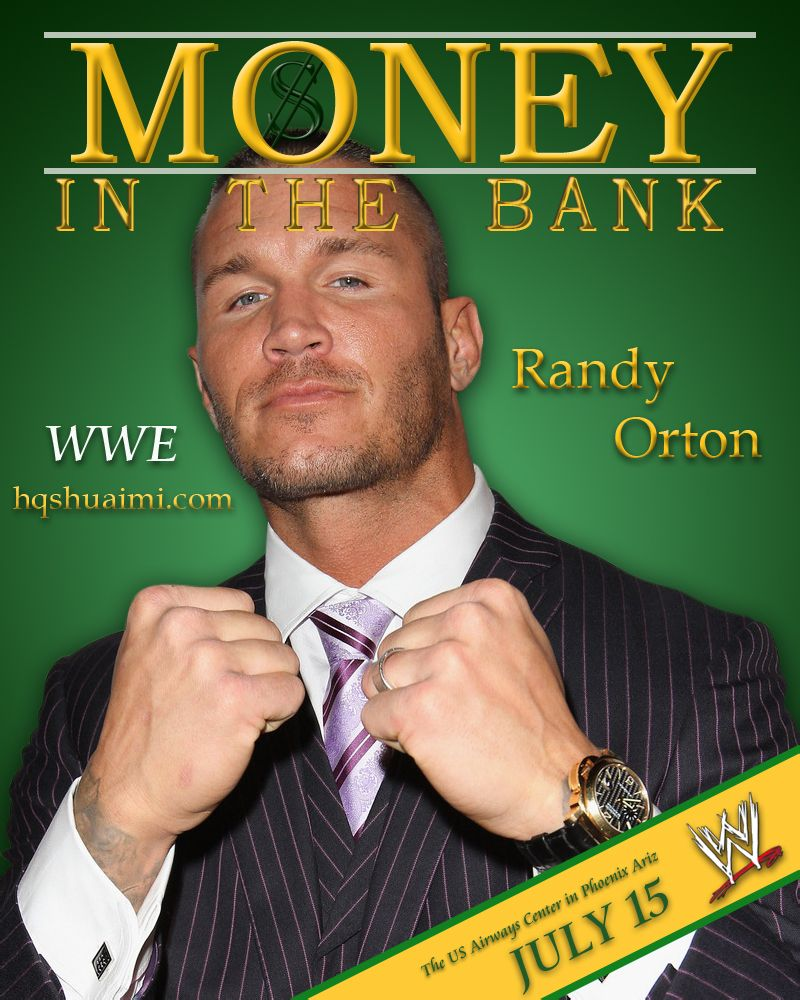 Image result for money in the bank 2012 poster