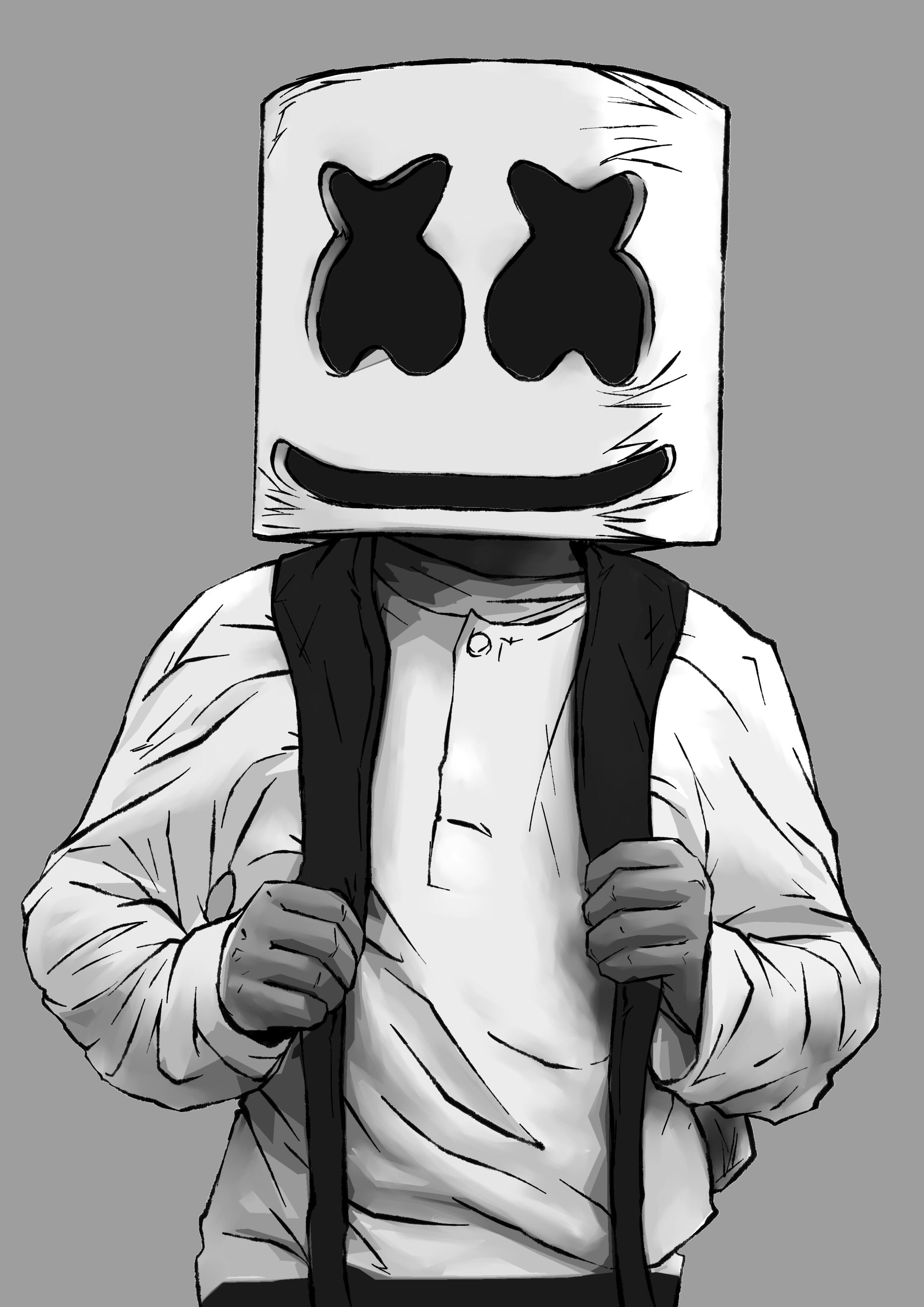 Marshmello explore marshmello on deviantart cosmic pincel 104 22 marshmello alone by endman3010 stopboris Images