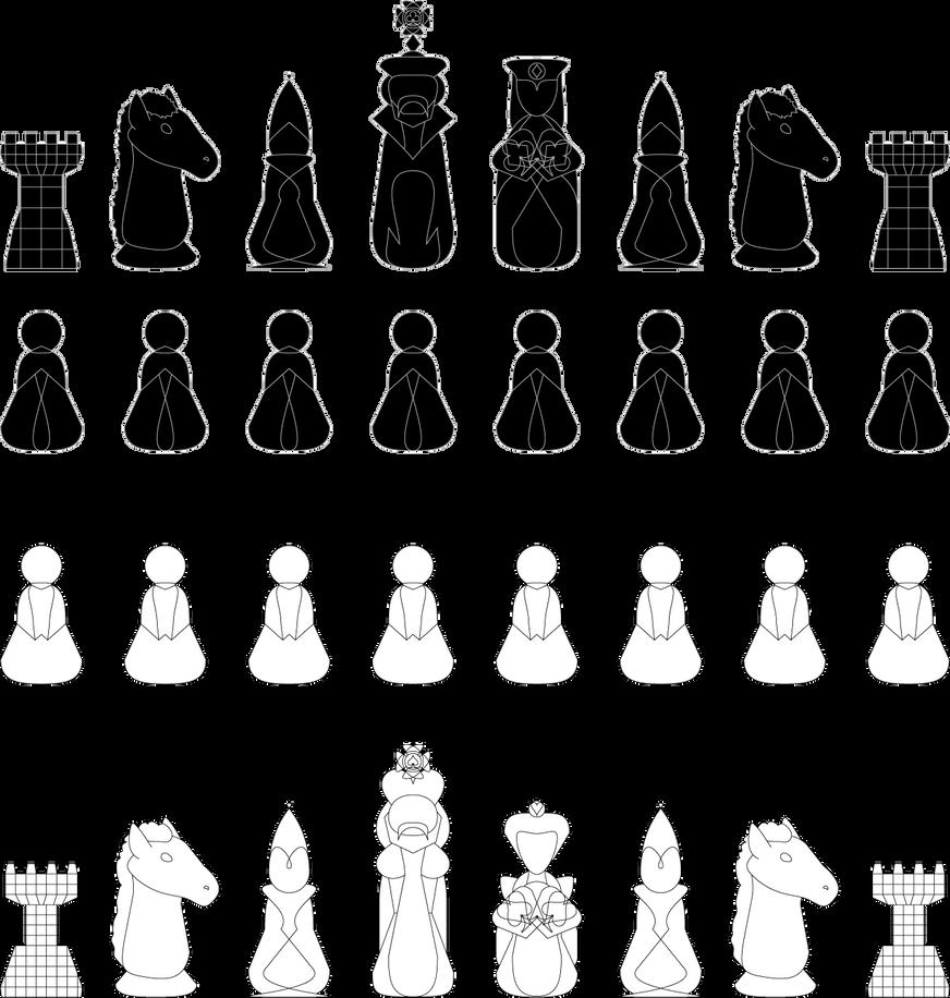 Chess pieces by yamitora1 on deviantart chess pieces by yamitora1 biocorpaavc Gallery
