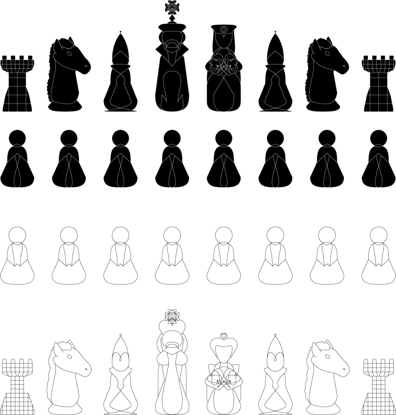 Pieces by yamitora1 on deviantart chess pieces by yamitora1 chess pieces by yamitora1 biocorpaavc Gallery