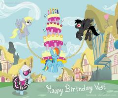 MLP Birthday Magics by Yamitora1