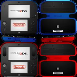 Nintendo 2DS Redesign