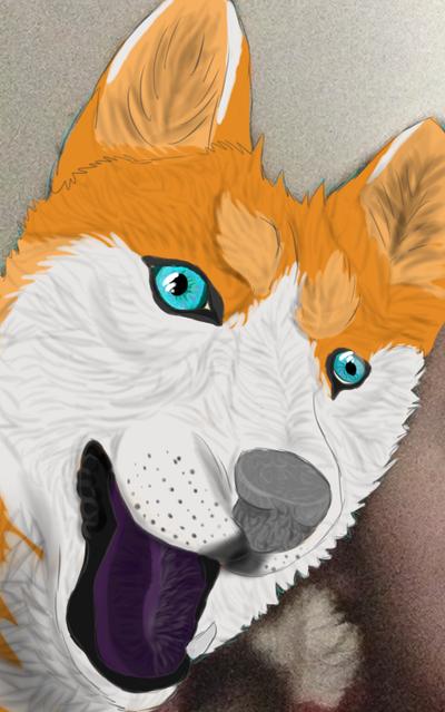 Astro's dog Alby xD by albatrossandwarrior1